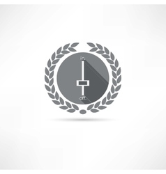 swithn off icon vector image