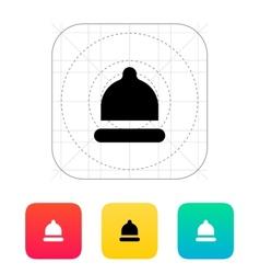 Condom small size icon vector