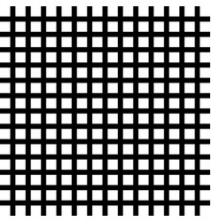 grid isolated on white background vector image vector image