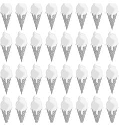 ice cream cone pattern icon vector image