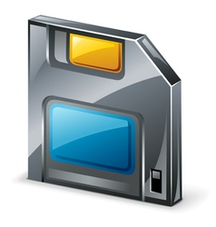 floppy diskette vector image
