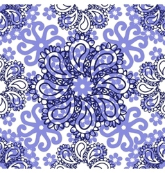 Abstract Elegance Flowe Seamless pattern vector image vector image