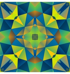 Abstract Multicolored Triangle Background vector image vector image