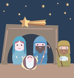 Nativity vector image vector image