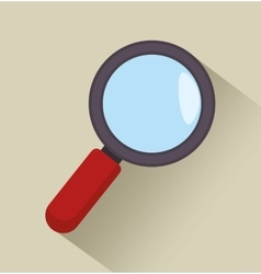 news search icon graphic vector image