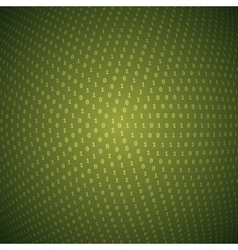 Abstract circular binary background vector