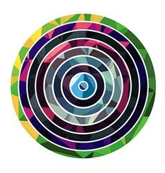 Abstract circle shape vector image