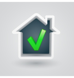 House Check vector image vector image