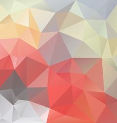 Pastel love triangular background vector