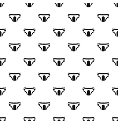 Adult diapers pattern simple style vector