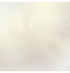 abstract doted wavy background vector image