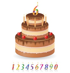 cake 03 vector image vector image