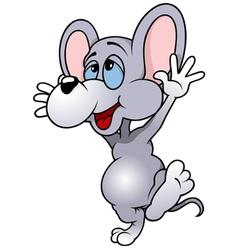 Happy mouse albert vector