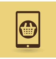 Electronic commerce isolated icon design vector