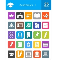 Academics vector