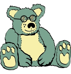 Cuddly Teddy Bear vector image