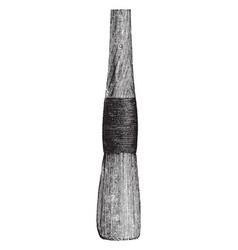 Sash tool vintage vector