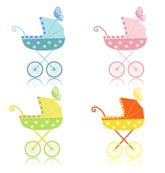 strollers vector image