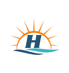 Wave sunset initial h vector