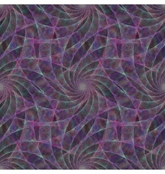 Purple seamless fractal swirling veil pattern vector