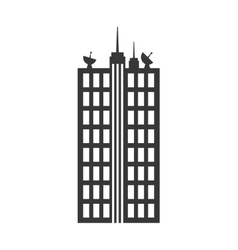Building icon city and urban design vector