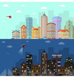 House Banner Horizontal vector image