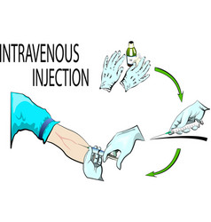 Intravenous injection vector