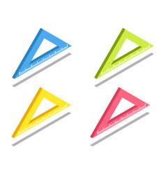 ruler icon symbol vector image
