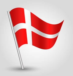 Flag denmark vector