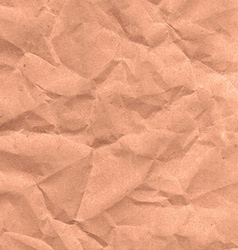 Folds the paper Kraft paper vector image vector image