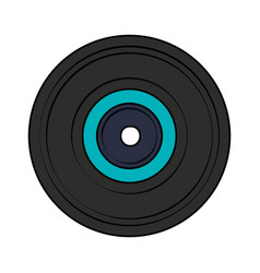 vinyl record icon image vector image