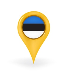 Location estonia vector