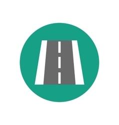Road markings vector