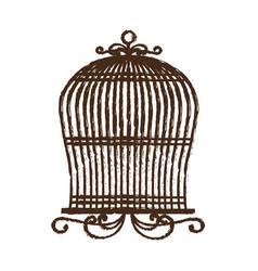birdcage icon image vector image