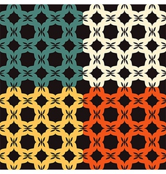 Bright pattern Bagel vector image vector image