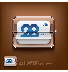 Calendar Symbol vector image vector image