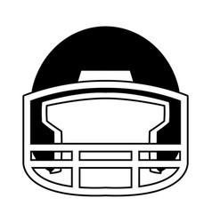 Helmet football equipment sport image vector