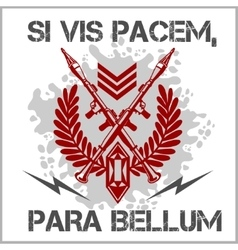 Soldier of Fortune - emblem vector image vector image