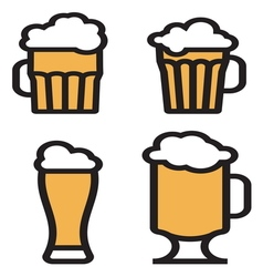 Beer simple2 vector