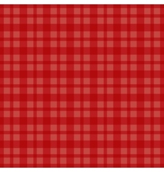 Seamless red cell background vector image vector image