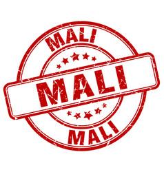 Mali stamp vector