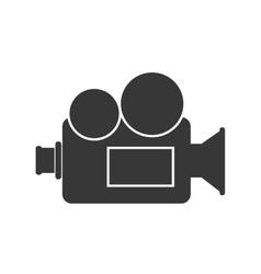 Broadcast cinema retro vector