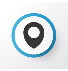 Location icon symbol premium quality isolated map vector