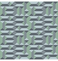 Seamless geometric architectural pattern convex vector