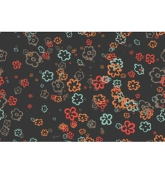 Seamless vintage pattern Eps 10 vector image vector image