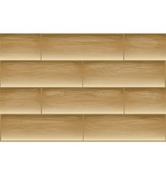 Texture floor planks vector