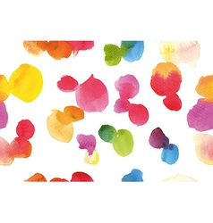 Watercolor pattern abstraction vector image