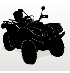 ATV vector image
