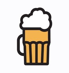 beer simple3 vector image vector image