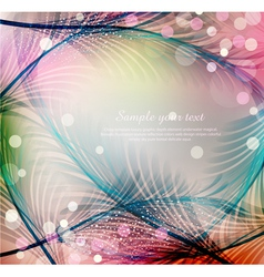 blue abstract festive background vector image vector image